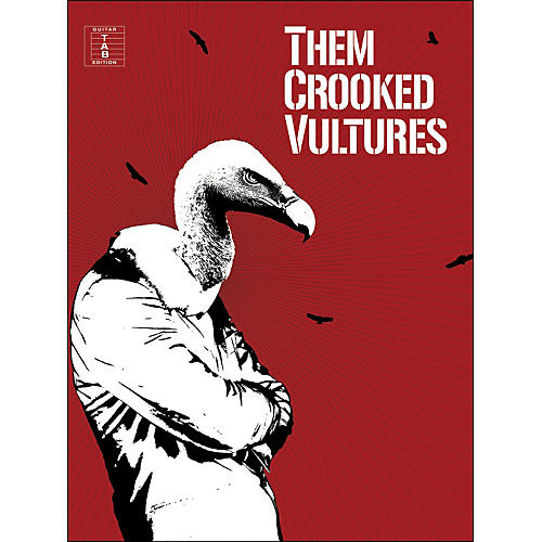 Music Sales Them Crooked Vultures - Guitar Tab Edition-thumbnail