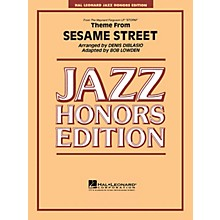 Hal Leonard Theme from Sesame Street Jazz Band Level 5 Arranged by Bob Lowden