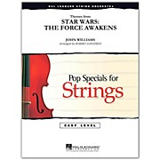 Hal Leonard Themes From Star Wars: The Force Awakens Easy Pop Specials For Strings by Level 2-3 by Robert Longfield