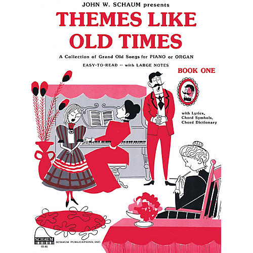 SCHAUM Themes Like Old Times, Bk 1 Educational Piano Series Softcover