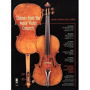 Music Minus One Themes from the Major Violin Concerti Music Minus One Serie... by Music Minus One
