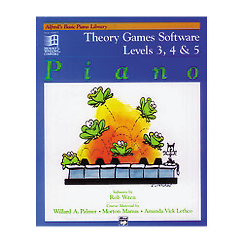 Alfred Theory Games Software Levels 3, 4 and 5