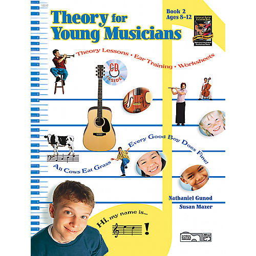 Alfred Theory for Young Musicians Book 2-thumbnail