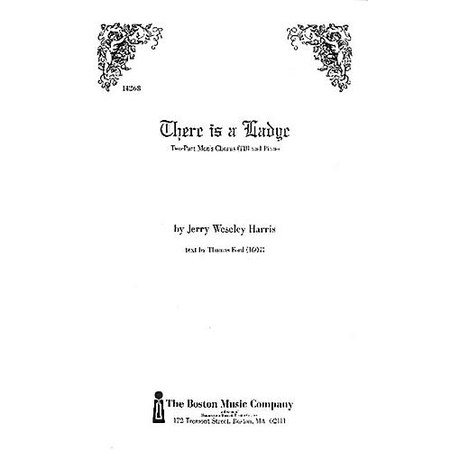 Boston Music There Is a Lady TB Composed by Jerry Weseley Harris