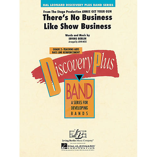 Hal Leonard There's No Business Like Show Business - Discovery Plus Concert Band Series arranged by John Moss
