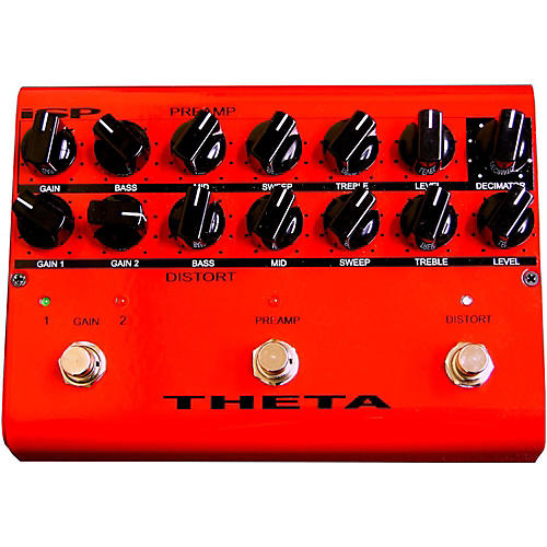 Isp Technologies Theta Floor Pre Amp Pedal for Guitar-thumbnail