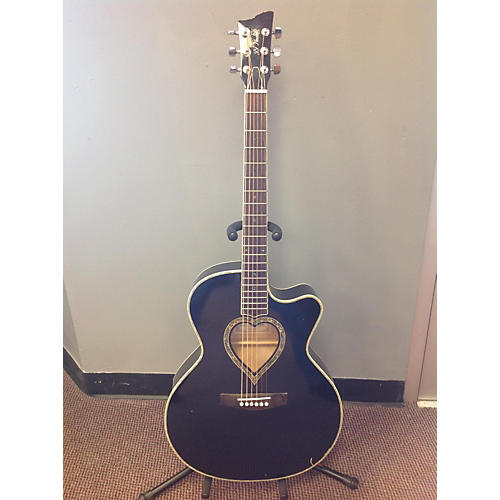 In Store Used Thin Cutaway Black Acoustic Guitar