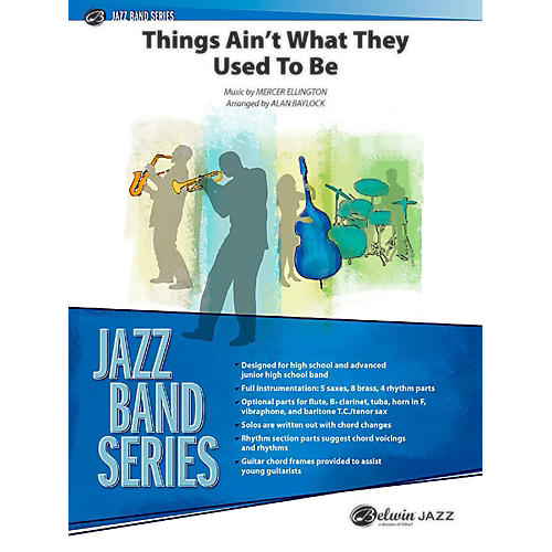 BELWIN Things Ain't What They Used to Be Jazz Ensemble Grade 3 (Medium)