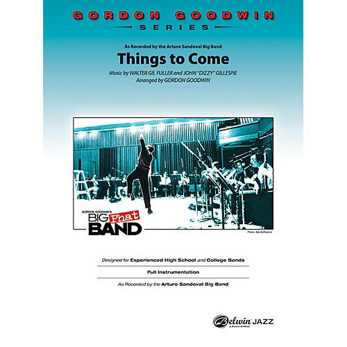 Alfred Things to Come Gordon Goodwin Jazz Band Grade 6 Set-thumbnail