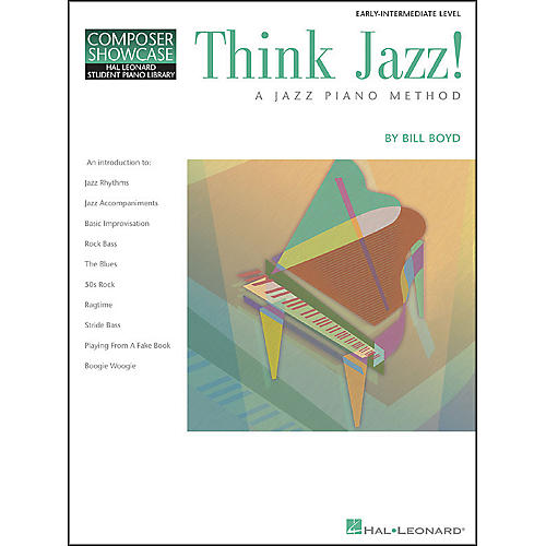 Hal Leonard Think Jazz Book 1 by Bill Boyd