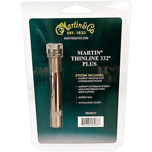 Martin Thinline 332 Plus Undersaddle Accoustic Guitar Pickup System-thumbnail