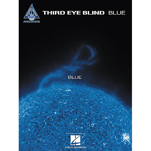 Hal Leonard Third Eye Blind Blue Guitar Tab Book-thumbnail