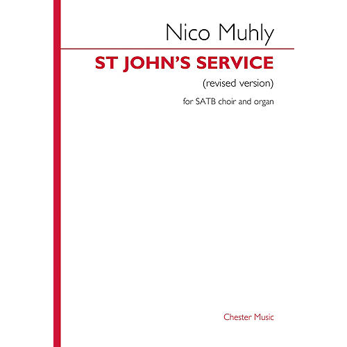 Chester Music Third Service (Magnificat & Nunc Dimittis) (for SATB choir and organ) SATB, Organ Composed by Nico Muhly