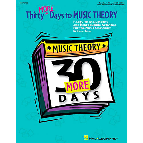 Hal Leonard Thirty More Days To Music Theory Teachers Manual