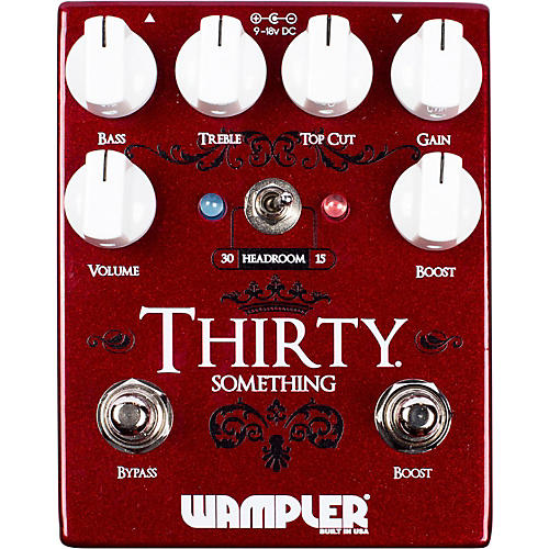 Wampler Thirty Something Overdrive Pedal-thumbnail