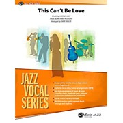 BELWIN This Can't Be Love Jazz Ensemble Grade 3.5 (Medium)