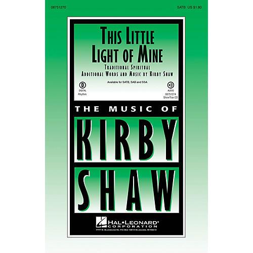 Hal Leonard This Little Light of Mine SSA Arranged by Kirby Shaw