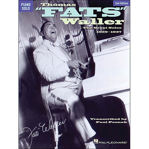 Hal Leonard Thomas Fats Waller - The Great Solos 1929-1941 arranged for piano solo-thumbnail