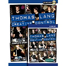 Hudson Music Thomas Lang - Creative Control (Book/CD/DVD Pack) DVD Series Performed by Thomas Lang