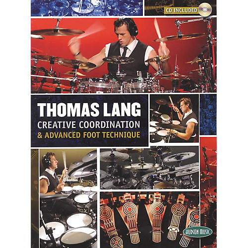 Hudson Music Thomas Lang - Creative Coordination and Advanced Foot Technique Book and CD-thumbnail