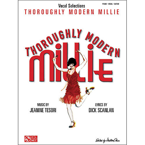 Cherry Lane Thoroughly Modern Millie Vocal Selections arranged for piano, vocal, and guitar (P/V/G)-thumbnail