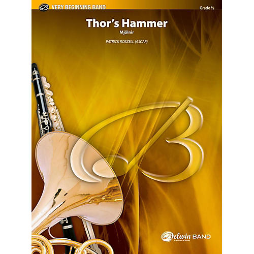 BELWIN Thor's Hammer Concert Band Grade 0.5 (Very Easy)