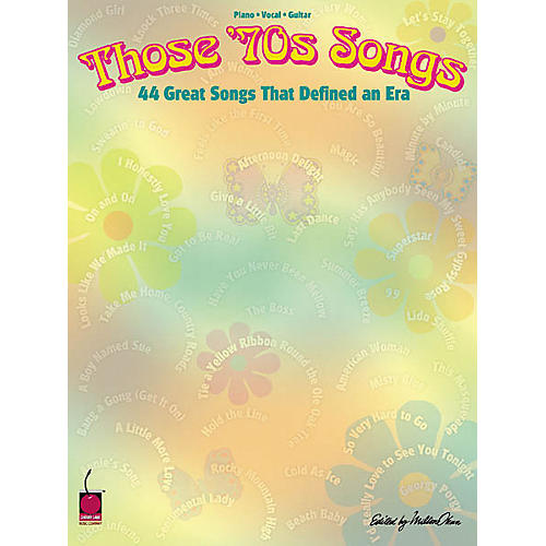 Cherry Lane Those 70's Songs Book-thumbnail