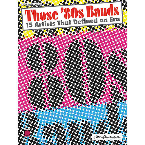 Cherry Lane Those 80's Bands Book