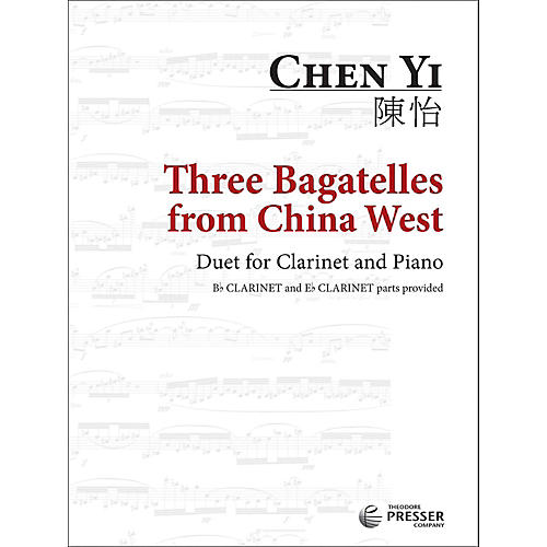 Carl Fischer Three Bagatelles from China West - Clarinet with Piano-thumbnail