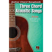 Hal Leonard Three Chord Acoustic Songs - Guitar Chord Songbook