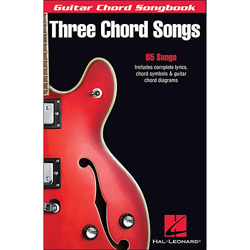 Hal Leonard Three Chord Songs Guitar Chord Songbook-thumbnail
