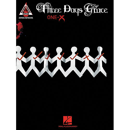 Hal Leonard Three Days Grace - One-X Guitar Tab Songbook-thumbnail