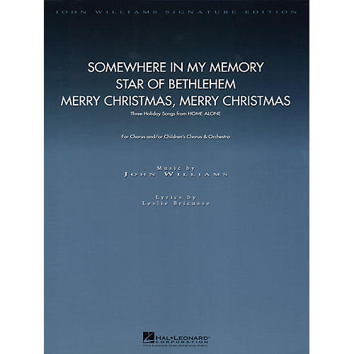 Hal Leonard Three Holiday Songs from Home Alone (Score and Parts) Composed by John Williams