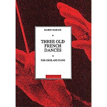 Chester Music Three Old French Dances (for Oboe and Piano) Music Sales America Series