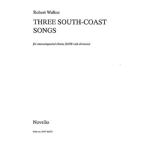 Novello Three South Coast Songs SATB