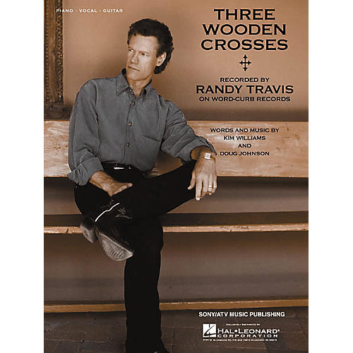 Hal Leonard Three Wooden Crosses Piano/Vocal/Guitar Songbook-thumbnail