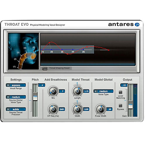 Antares Throat EVO (VST/ AU/ RTAS) Software Download-thumbnail