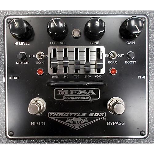 Mesa Boogie Throttle Box EQ Effect Pedal