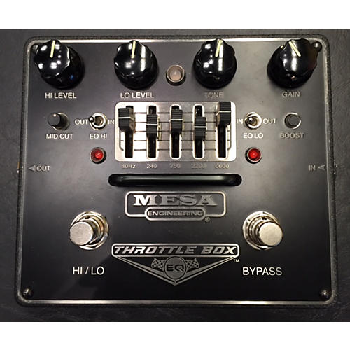 Mesa Boogie Throttle Box Effect Pedal-thumbnail