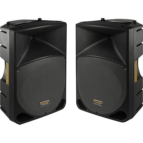 Tapco Thump 15 inch Powered Speaker Pair-thumbnail