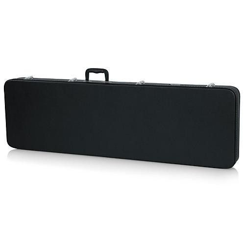Gator Thunderbird Bass Guitar Wood Case Black