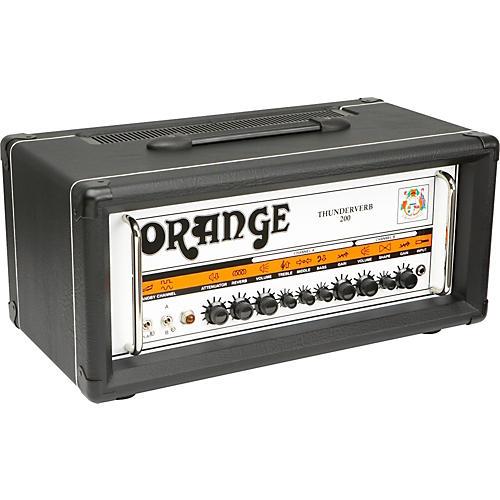 Orange Amplifiers Thunderverb 200 Series TH200HTC 200W Tube Guitar Amp Head Black-thumbnail