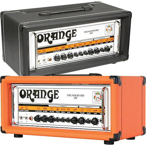 Orange Amplifiers Thunderverb 200 Series TH200HTC 200W Tube Guitar Amp Head