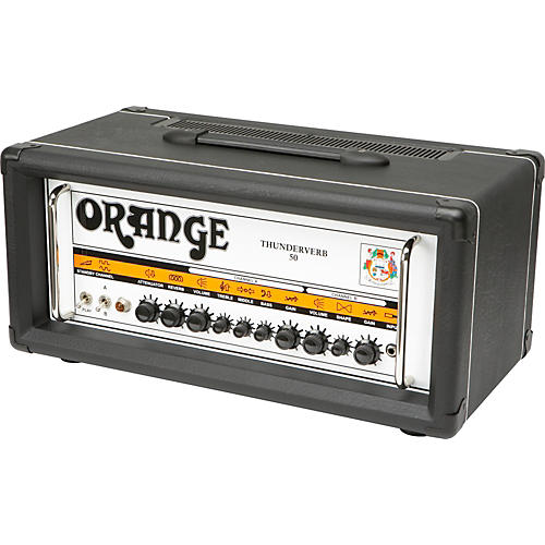 Orange Amplifiers Thunderverb 50 Series TH50HTC 50W Tube Guitar Amp Head-thumbnail