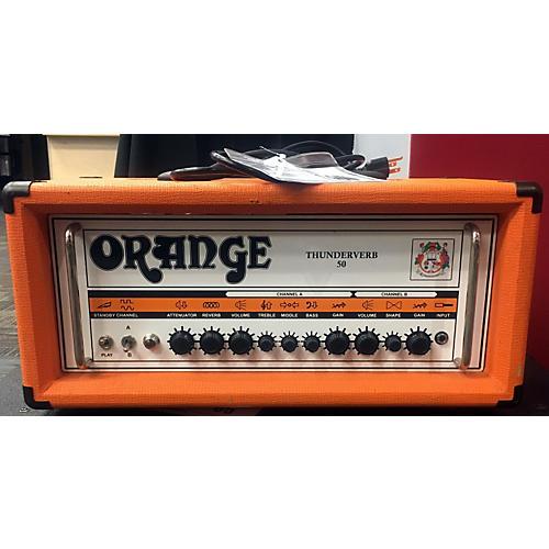 Orange Amplifiers Thunderverb 50 Tube Guitar Amp Head