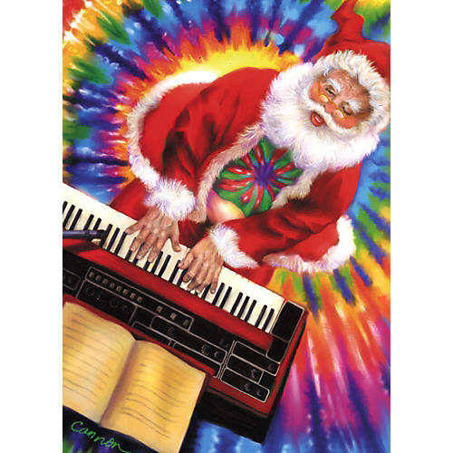 Art Strings Tie Dyed Yule Tide Greeting Card 10-Pack