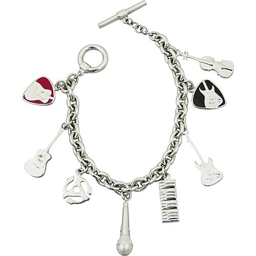 Jeffrey David Tiffany-Style 8-Charms Bracelet-thumbnail