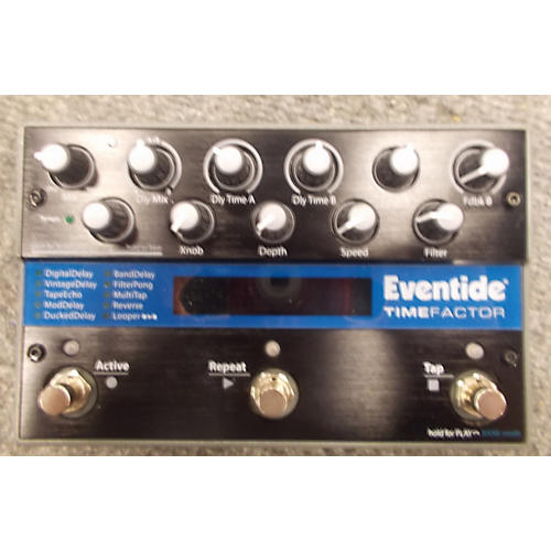 Eventide Time Factor Twin Delay Effect Pedal-thumbnail