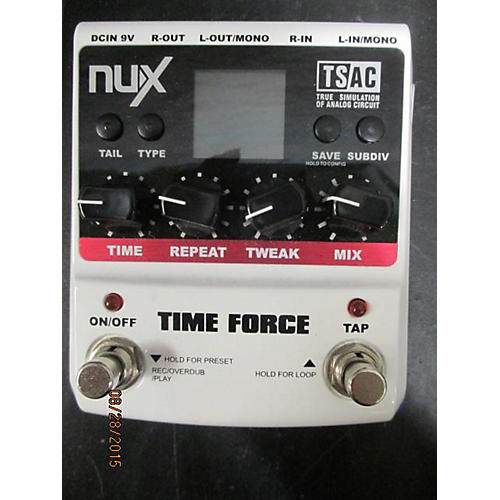 In Store Used Time Force Effect Pedal