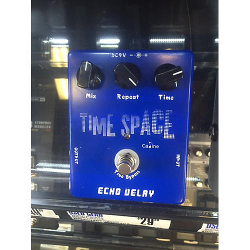 In Store Used Time Space Effect Pedal